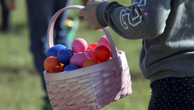 More than 10,000 candy-filled eggs will pepper Lucy Park for the city's annual Easter egg hunt, which is coming up April 1.