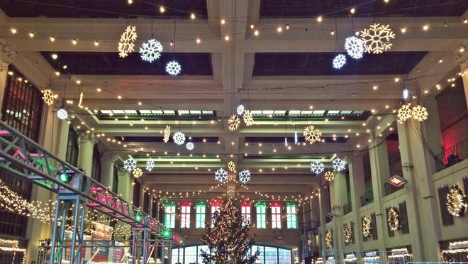 The Grand Arcade at Convention Hall will transform this holiday season.
