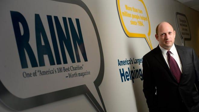 Scott Berkowitz at the headquarters of RAINN in Washington.