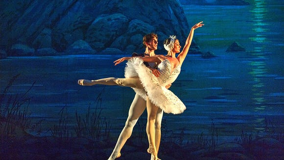The four acts of the original Swan Lake ballet were