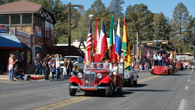 """""""Fall"""" in love with Ruidoso at the Aspenfest Parade at 10 a.m. Saturday."""