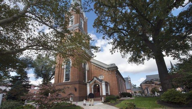 First Presbyterian Church Sunday October 18, 2015.  Faith and First Presbyterian Churches merged 50 years ago this Christmas Eve, First Presbyterian October 18, 2015.