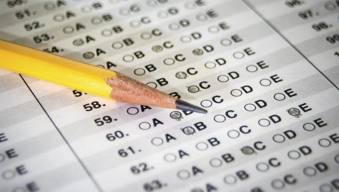 Standardized test.