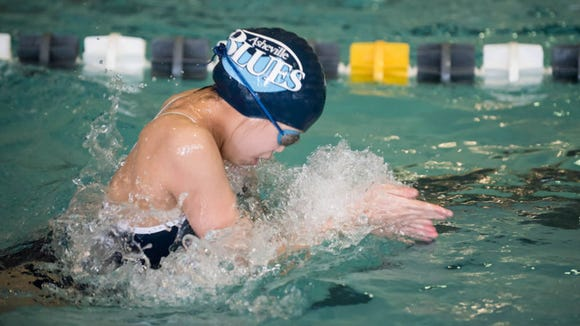 Asheville School hosted a swim meet on Friday.