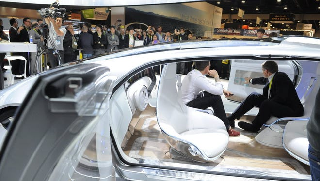 At the 2015 Consumer Electronics Show, Mercedes-Benz unveiled its working self-driving car prototype, the Luxury in Motion.