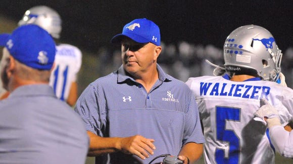 Former Smoky Mountain head football coach Chris Brookshire has accepted a position as an assistant coach at Mars Hill University.