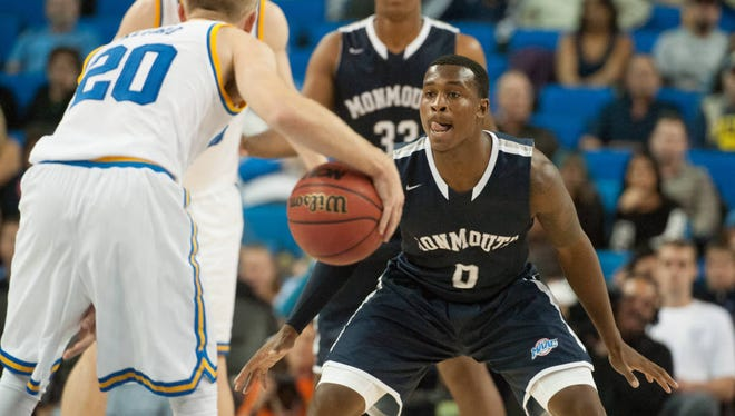 Monmouth University senior guard Josh James and the Hawks' defense played at an elite statistical level last winter