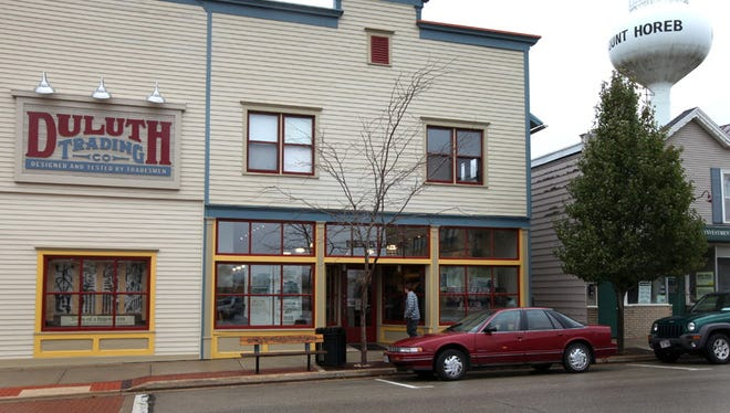 Duluth Trading plans to move its headquarters to Mount Horeb, site of its flagship retail store.