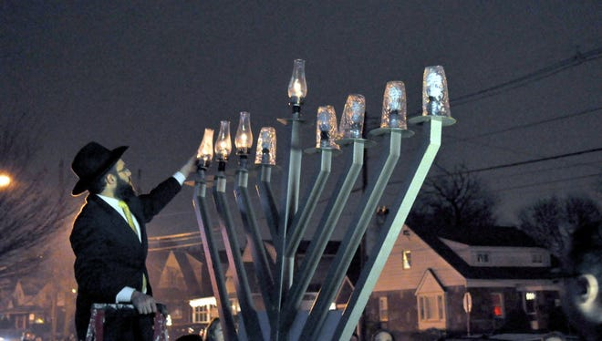 Celebrate the festival of lights with the Fair Lawn community Menorah lighting