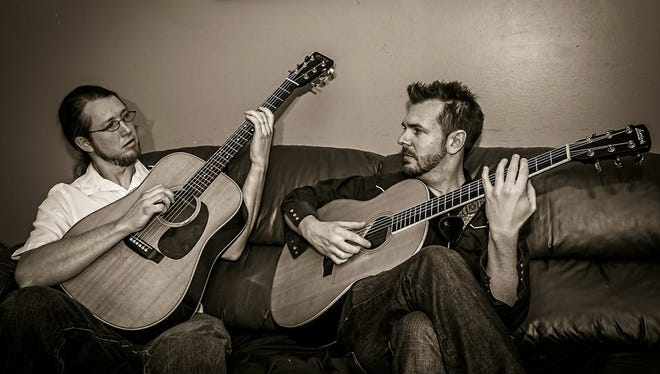 A love of acoustic music and tight harmonies united Tim Marsh and David Zoll of The Everydays.