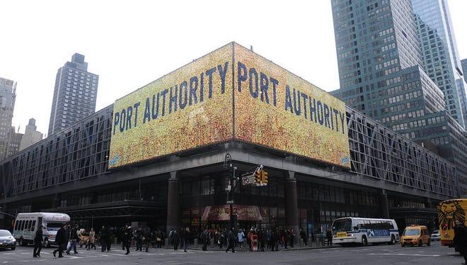 The Port Authority Bus Terminal in midtown Manhattan.