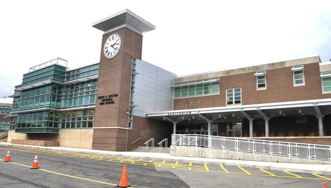 Becton Regional High School in East Rutherford.