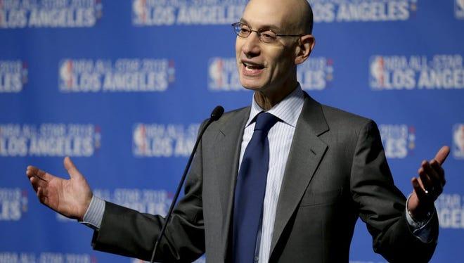 NBA Commissioner Adam Silver announced an NBS 2K esports/video game league will begin in 2018.