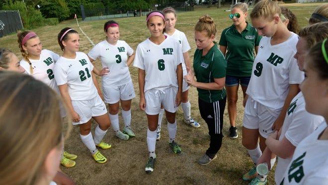 Bergen; Midland Park 9/28/2015 Profile on Midland Park soccer player Jenna Passero (6)