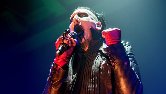 Before he was injured, Marilyn Manson was scheduled to come to the Rave's Eagles Ballroom Oct. 11.