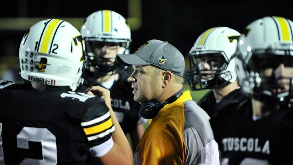 09/08/17 Tuscola defeated Enka 55-0, during their home