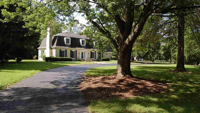 The home, listed for $349,000 at 2524 S. 23rd St., touts 3.71 private acres and a large barn. It holds up to five bedrooms, including a spacious master suite with five closets and a private full bathroom.