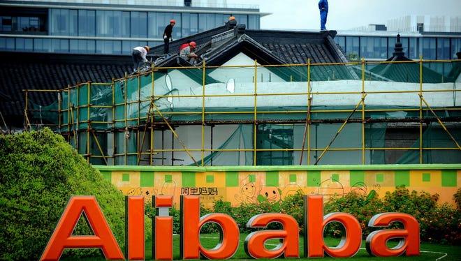 Alibaba's HQ in Hangzhou, in east China's Zhejiang province.