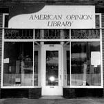 John Birch Society bookstore at 1891 E. Main Street. (staff photo, 10/5/1965)