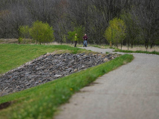 The Northern Extension of the Heritage Rail Trail is