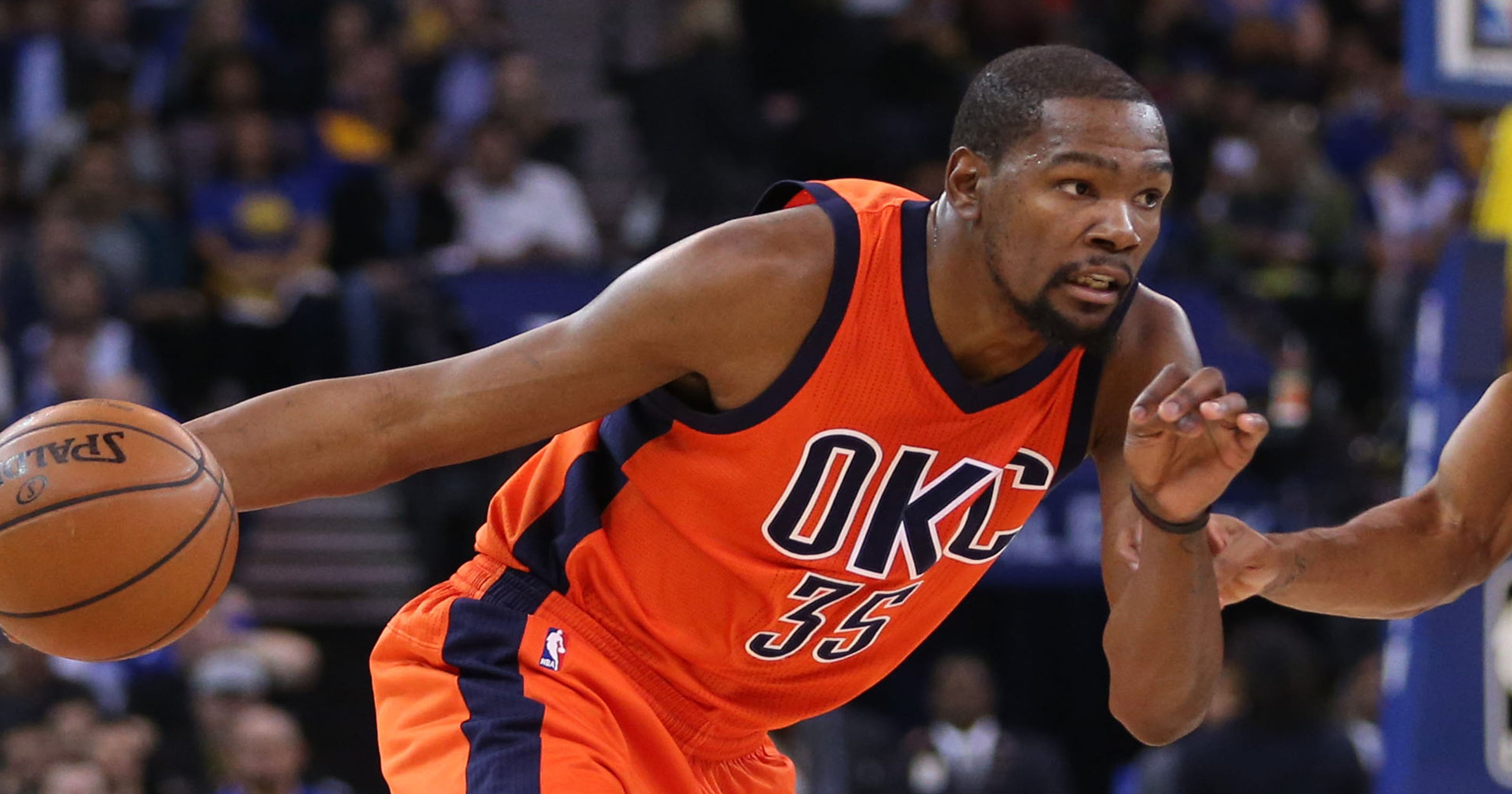 0bf0c419a7e7 Kevin Durant playing with Golden State  Warriors fans dare to dream