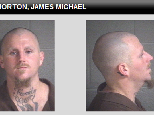 James Michael Norton, 30, of Marshall, is charged with first-degree murder and robbery.
