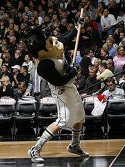 Purdue Boilermakers mascot Purdue Pete.