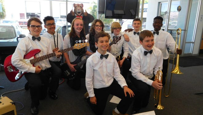 """Raa Middle School band director, Barbie Townsend said """"Tallahassee Music Week allows our students to be performers in their community and gives them a chance to grow as musicians."""""""