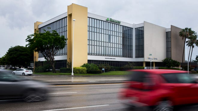 Traffic drives past the Regions on Fifth building at 1100 Fifth Ave. S. in Naples, which recently sold for $16 million. There are no plans to change tenants or the use of the property, with Regions Bank as its anchor tenant.