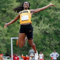 How Jahisha Thomas cultivated a historic spring for the Iowa track and field team