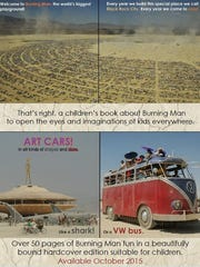 "New York photographer is writing ""Burning Man: The World's Biggest Playground,"" a children's book about Burning Man."