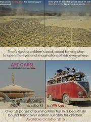 "New York photographer is writing ""Burning Man: The"