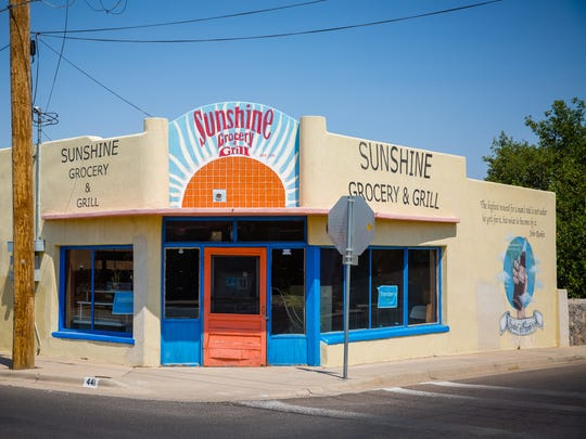 Sunshine Grocery & Grill, while closed, remains a Las Cruces icon sometimes used for special events. It is frequent subject for artists and photographers.