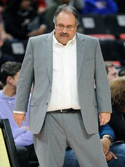 Stan Van Gundy has led the Pistons to the playoffs