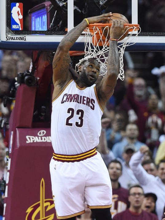 LeBron James had to be great; and he was