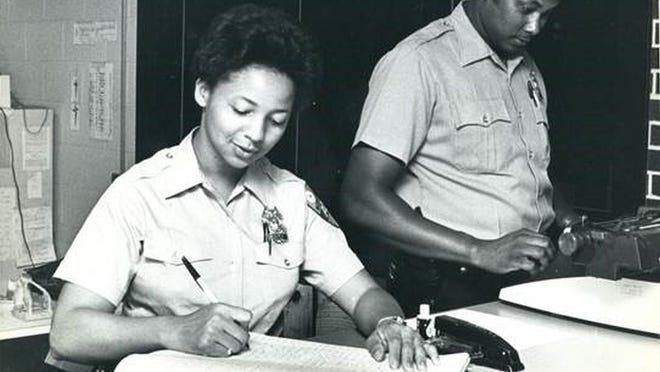 Hazel Beryy, one of Worcester's first black female officers.