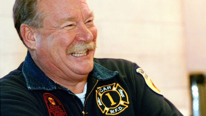 Retired Worcester Fire Chief Dennis Budd, seen in a 2000 file photo. View a photo gallery at telegram.com.