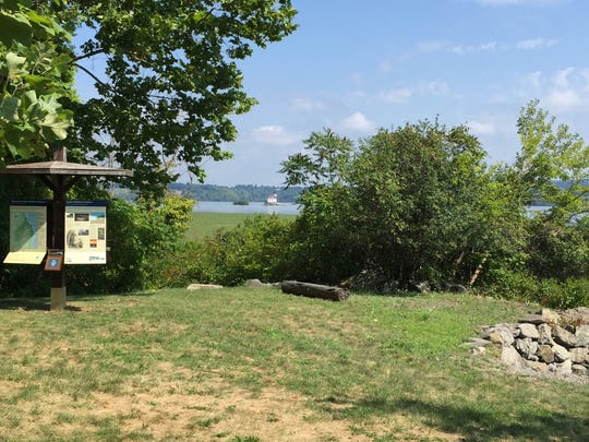Eye-pleasing views of the Hudson River are among the benefits provided to hikers at the Esopus Meadows Preserve in Ulster Park