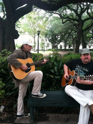 Jim Popik and Jeff Page of the Allmans/Meters-flavored rock band Ten Foot Tall will play a special acoustic set on Dec. 20 at the Pattenburg House.