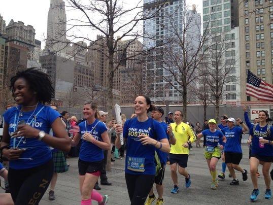 one run for boston - world trade center