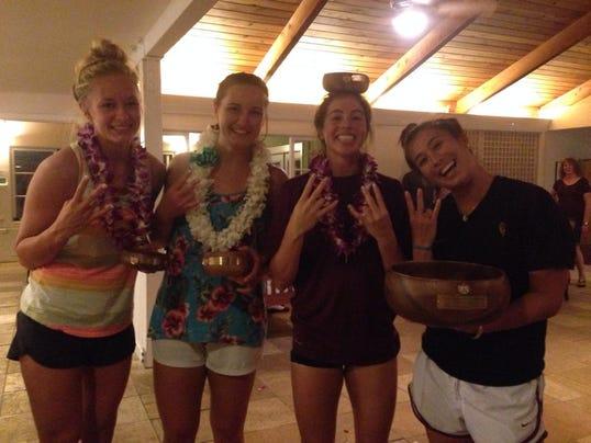 ASU volleyball climbs eight spots to No. 17 nationally