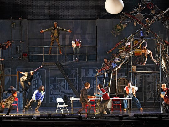 A scene from Rent's 20th-anniversary tour.