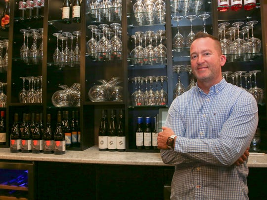 Mark Scialdone, the owner of Bliss Dessert and Wine