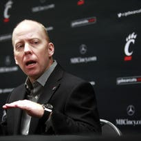 Mick Cronin may attend UC Senior Day on Sunday, but he probably will not coach any more games this season.