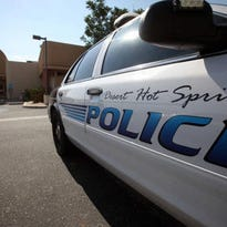 Desert Hot Springs police arrested a man Tuesday on suspicion of multiple burglaries.