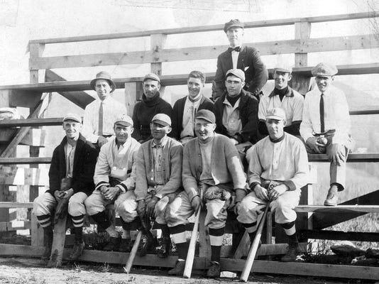 circa 1927 town team