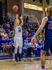 FGCU redshirt sophomore Tayler Goodall will have greater opportunities to play this season.