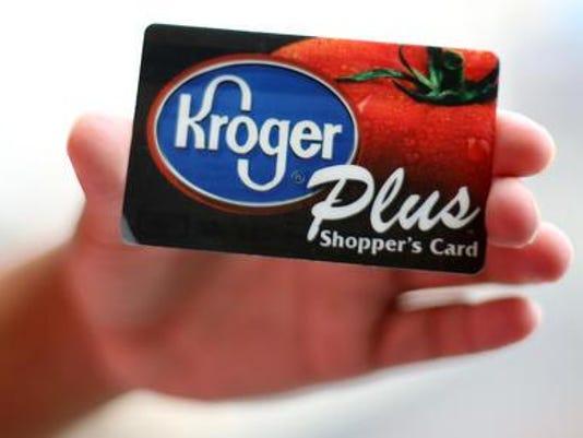 Kroger loyalty card