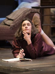 "Anna Lentz in Arizona Theatre Company's ""The Diary of Anne Frank."""