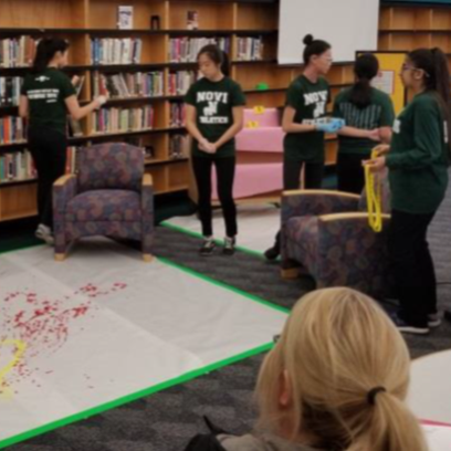 Whodunit? CSI students solve the crime